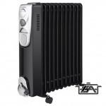 Hauser OR1115 Olajradiátor 11 elem 2200W fekete