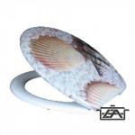 Panitalia Wc ülőke, duroplast, kagylós, P-B