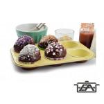 Perfect home kerámia bevonatos muffin sütőforma 6 részes