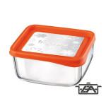 Bormioli Frigo Fun 119805 szögletes ételtároló doboz