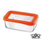 Bormioli Frigo Fun 119806 téglalap alakú ételtároló doboz