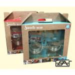 BestOn 8281000 Befőttes üveg szett díszdobozban 2 részes