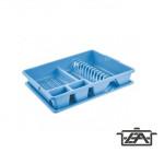 Tontarelli Edényszárító, műanyag, tálcával, 122007