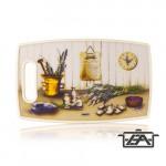 Banquet 12FHH20016 Műanyag vágódeszka 36x22,5cm Levendula