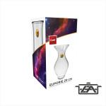 Cok 177-F2620 Üveg váza 20cm Euporie