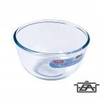 Pyrex Salátástál, hőálló üveg, 1 liter, Prep and Store, 203006