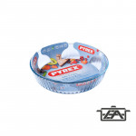 Pyrex 203011 kerek tortaforma 26x6cm
