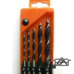 Fúrófej készlet 20905 Fához 5 db-os 4-10  mm