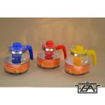 Hőálló teakanna 232211 1,85 liter színes