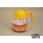 Hőálló teakanna 232217 Ewa mikrózható 1,25 liter színes