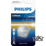Philips PH-CR2430-B1  Lithium CR2430 3V  1 db