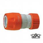 Siroflex Kerti gyorscsatlakozó, stoppos, műanyag, 4456