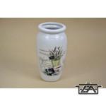 Kerámia váza 285551 levendulás 20 cm