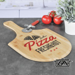 Hi 28577 Bambusz pizza deszka 53,5 cm