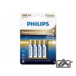 Philips PH-PR-AAA-B4 Premium Alkaline elem AAA 4db