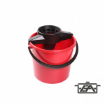 Plastor Trading 37105 Eco kerek vödör 10 liter csavaróval