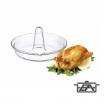 Simax Hőálló csirkesütő, kerek, 24x13 cm, 401023