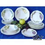 Churchill Étkészlet szett, porcelán, 19 részes, szögletes, Victorian Orchard, 407058