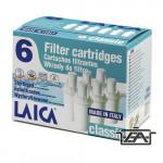 Laica F6A3 Klasszikus vízszűrő betét 6db-os csomag