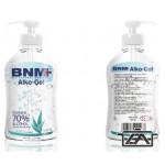 BMN Kézfertőtlenítő gél, 500 ml, mindennapi használatra, Alko-gel, BNMAG05