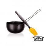 Happy Green 5012270-A Tálka szilikon ecsettel grill pácoláshoz-olajozáshoz