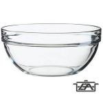 Luminarc Salátás tál, üveg, 17 cm, Empilable, 500027
