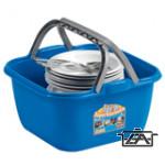 IDRA 51002  Füles műanyag kosár 14 literes