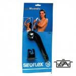 Siroflex Zuhanyfej, állítható sugarú, fekete, 2755