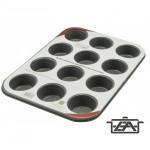 Perfect Home 72020 Muffinsütő 12 db-os tapadásmentes bevonattal