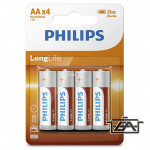 Philips PH-LL-AA-B4 LongLife AA elem 4db