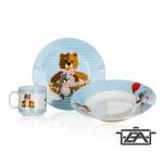 Banquet 60TB002-B Gyerek étkészlet 3 részes Teddy Bear