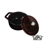 Berlinger Haus Edény, 10 cm, öntöttvas, Mini pot, Burgundy Collection BH6495