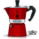 Bialetti 0004942 Moka Express Red Kávéfőző 3 személyes