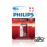 Philips PH-PA-9V-B1  Power Alkaline 9V elem 1db