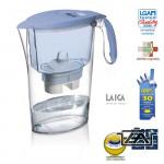 Laica Clear Line-kék vízszűrőkancsó szűrőbetéttel