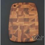 Parawood 210084 Fa vágódeszka kockás 25,5x35,5x2 cm