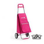 Gimi 145061 Argo bevásárlókocsi 45 literes rózsaszín