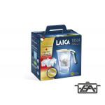 Laica J9059A1 Tosca vízszűrő kancsó szett mechanikus kijelzővel, 1 + 3 db bi-flux univerzális szűrőbetéttel