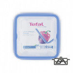 Tefal K3022112 CLIP and CLOSE Ételtároló doboz négyszögletű 0,85L