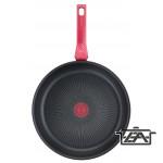 Tefal Serpenyő, alumínium, nemtapadó bevonat, 28 cm, Daily Chef Red, G2730672