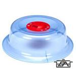Forgótetős tányérfedő microba