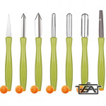 Tescoma 13999918 Presto Carving zöldségdíszítő készlet 6 részes