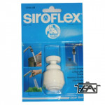 Siroflex Csapszűrő, műanyag, gömbcsuklós, menetes, fehér, 2785/21