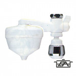 Siroflex Víztisztító, krómozott, menetes, fehér, 2650/1