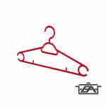 Plastor Trading R3-72537 Cooper Műanyag vállfa
