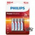 Philips PH-PA-AAA-B4  Power Alkaline AAA 4db