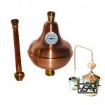 Párlattisztító egység 17 és 50 literes pálinkafőzőhöz