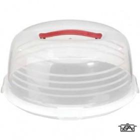 Curver 00416-129-00 Kerek tortabúra 35 cm átlátszó-fehér