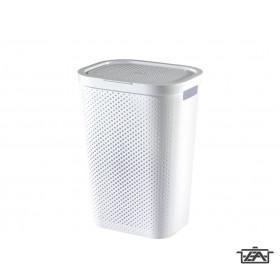 Curver 04754-N23-00 Infinity szennyestartó 59L fehér