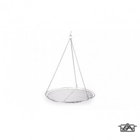 Perfect Home 13210 Rozsdamentes Grillrács lánccal 60 cm